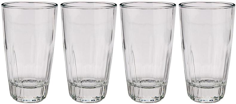 ست 4تایی لیوان شیشه ای آزتک