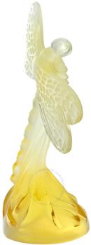 مجسمه سنجاقک کریستال طلایی9.4 3.5X  سانتی متری سنجاقک