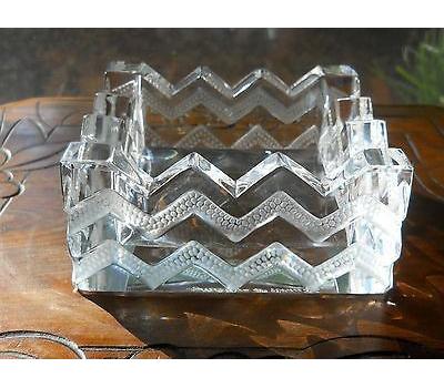اقلام تزئینی زیرسیگاری کریستال شفاف5 11X سانتی متری سودَن