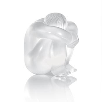 مجسمه کریستال شفاف5 6X  سانتی متری  مدیتیشن