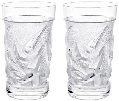 لیوان کریستال شفاف 7.3 12.7Xسانتی متری تامبلر