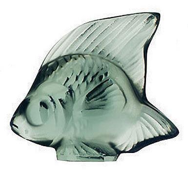 مجسمه  ماهی کریستال نعنایی2.9 5.3X سانتی متری سیل