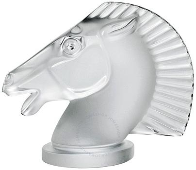 مجسمه  سر اسب کریستال مات15 6.5X سانتی متری لانگ چامپ