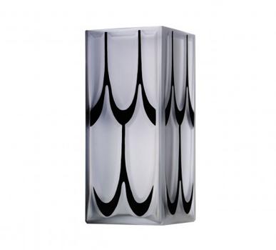 گلدان کریستال شفاف12 26X  سانتی متری منهتن