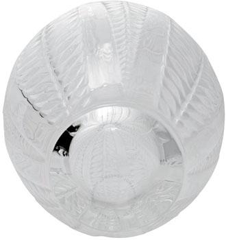 گلدان کریستال شفاف11 20X   سانتی متری آکاسیا