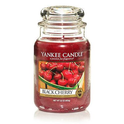 شمع بزرگ با رایحه Black Cherry