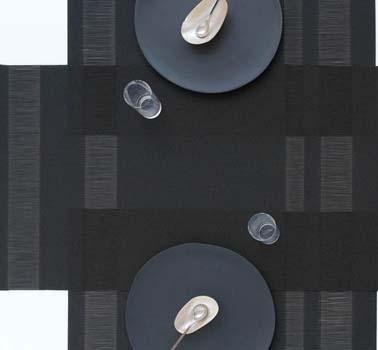 زیربشقابی مستطیل مشکی 48x36 سانتیمتری تاکسدواستریپ