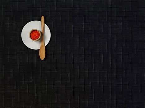 رانر مستطیل نقرهای 183x36 سانتیمتری بامبو
