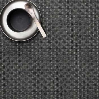 زیربشقابی مستطیل خاکستری 48x36 سانتیمتری کونو