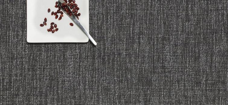 زیربشقابی مستطیل خاکستری 48x36 سانتیمتری باسل
