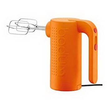 بودوم - همزن برقی دستی بیسترو - نارنجی