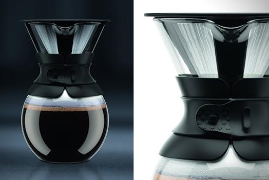 قهوه ساز مشکی 1 لیتری
