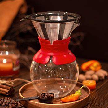 قهوه ساز قرمز 1 لیتری