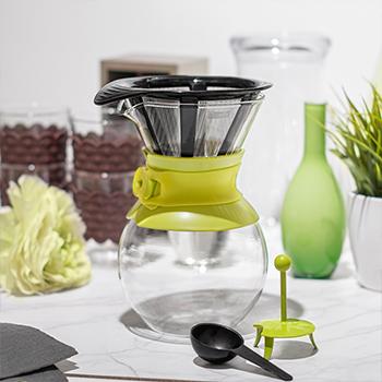 قهوه ساز سبزروشن 1 لیتری