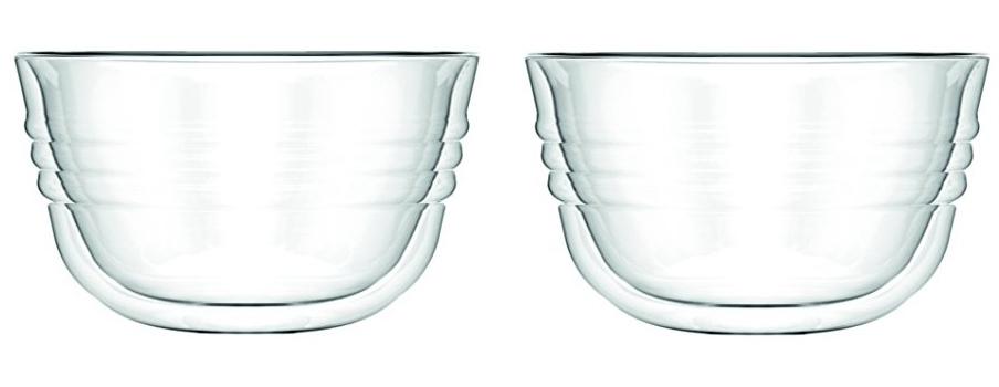 لیوان دوجداره شیشه ای 250 میلی لیتری شامپاین