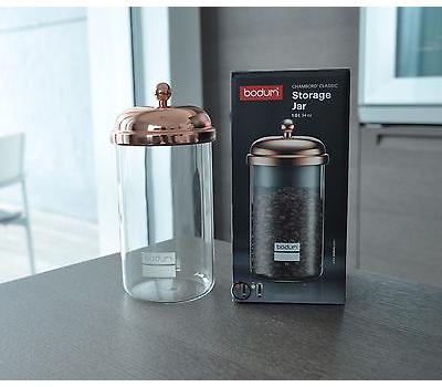 ظرف نگهداری قهوه مسی 1 لیتری