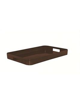 سینی ملامین شکلاتی 34.5x53.5 سانتی متری گالری