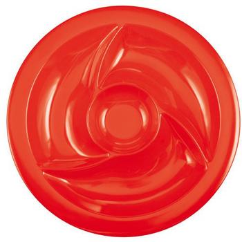 ظرف اردورخوری قرمز 38 سانتیمتری