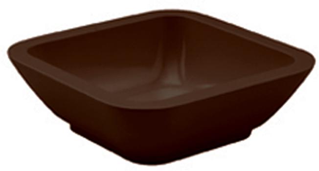 کاسه مربع شکلاتی 9x9 سانتی متری باربارا ایگن