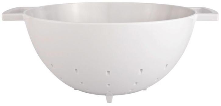آبکش ملامین سفید 23 سانتی متری