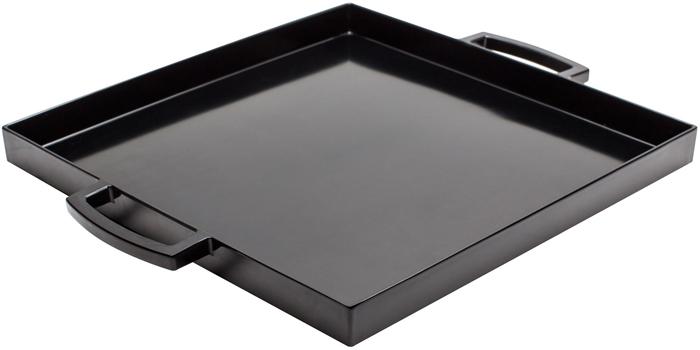 سینی مربع مشکی 32x32 سانتی متری میمی پاپ