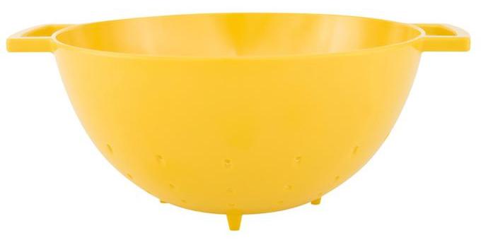 آبکش زرد 15 سانتی متری پاپ