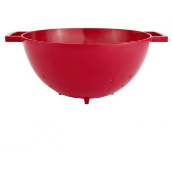 آبکش قرمز 23 سانتی متری پاپ