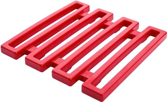 زیر قابلمه ای قرمز 15x15 سانتیمتری پاپ