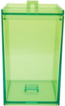 ظرف نگهداری مواد خشک سبز روشن
