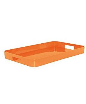 سینی ملامین نارنجی 30.5x45.5 سانتی متری