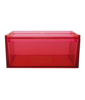 ظرف نگهداری مواد خشک قرمز