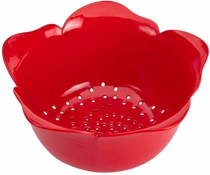 آبکش گل قرمز 16.5 سانتی متری