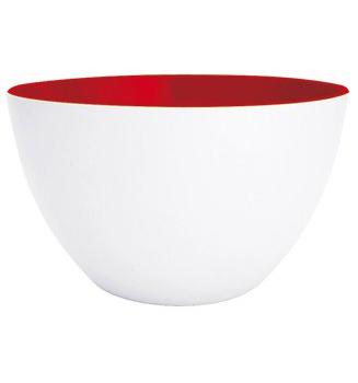 کاسه سفید/قرمز 28 سانتیمتر