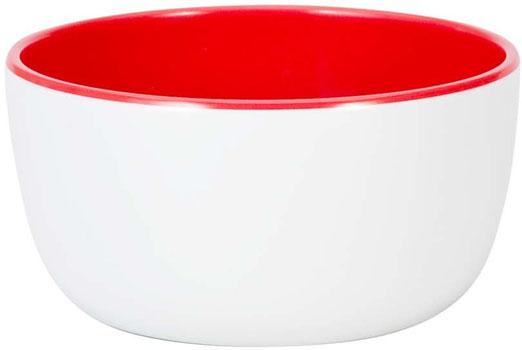 بستنی خوری سفید/ قرمز  12 سانتی متری