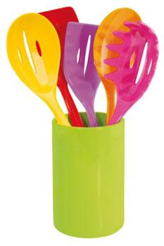 سرویس 6عددی ابزار پخت رنگی