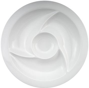 ظرف اردورخوری سفید 38 سانتی متری