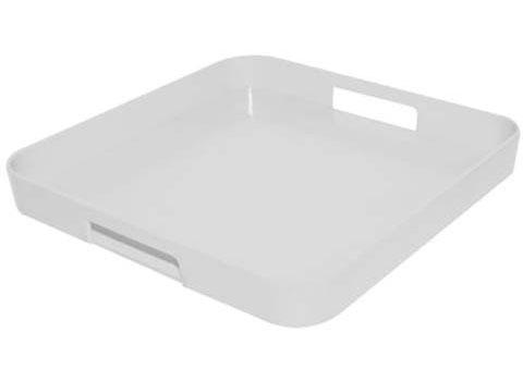 سینی سفید 33x33 سانتیمتری