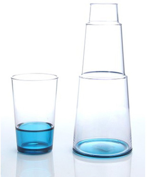 ست تنگ و لیوان آبی 1 لیتری کارافه
