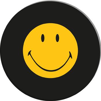 بشقاب مشکی 20 سانتی متری لبخند