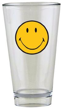لیوان شفاف لبخند