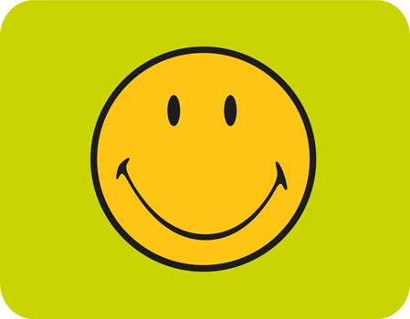 سینی سبز 26x32.5 سانتی متری لبخند