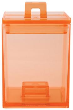 جعبه نگهداری مواد خشک نارنجی