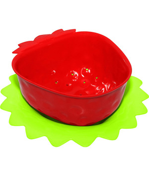آبکش توت فرنگی قرمز 11 سانتیمتری