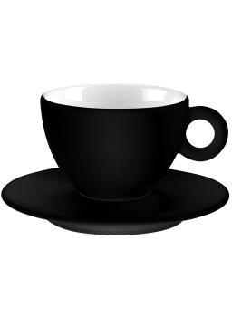 فنجان و نعلبکی مشکی 100 میلی لیتری آلیس