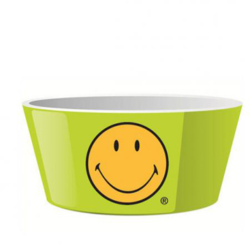 کاسه ملامین سبز 15 سانتی متری لبخند