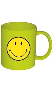 ماگ ملامین سبز 350 میلی لیتری لبخند