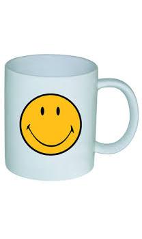 ماگ ملامین سفید 350 میلی لیتری لبخند