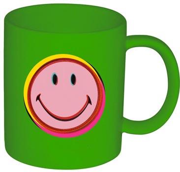 ماگ سبز 350میلی لیتری لبخند