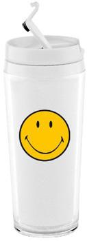 لیوان دوجداره سفید 200 میلی لیتری لبخند