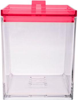 جعبه نگهداری مواد خشک قرمز
